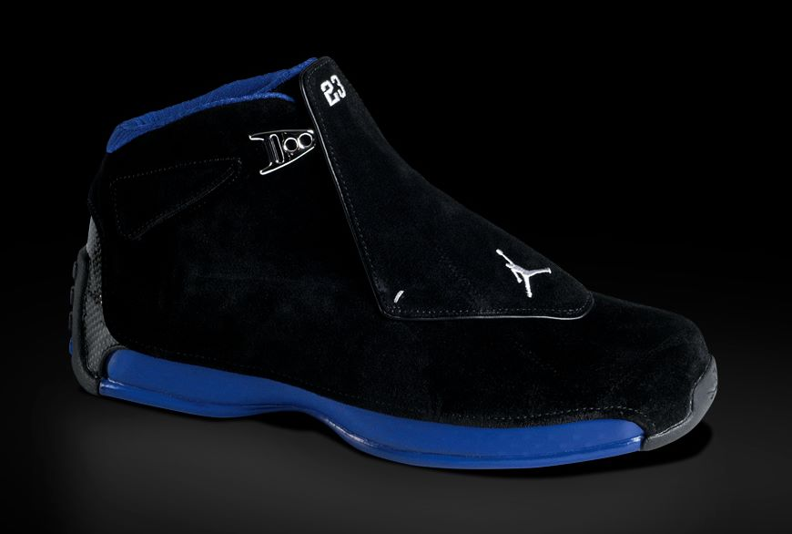 Michael Jordan Shoes - Pictures: Nike Air Jordan XVIII (18)